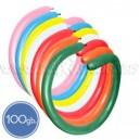 Шары для моделирования (ШДМ), ПАСТЕЛЬ, Q260, 100 шт., ассортимент цветов