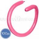 Шары для моделирования (ШДМ), ПАСТЕЛЬ, Q260, 100 шт., ярко-розовые, фуксия