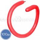 Шары для моделирования (ШДМ), ПАСТЕЛЬ, Q260, 100 шт., красные