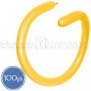 Шары для моделирования (ШДМ), ПАСТЕЛЬ, Q260, 100 шт., ярко-желтые