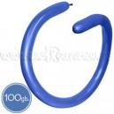 Шары для моделирования (ШДМ), ПАСТЕЛЬ, Q260, 100 шт., ярко-синие