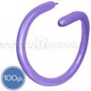 Шары для моделирования (ШДМ), ПАСТЕЛЬ, Q260, 100 шт., светло-фиолетовые, лиловые