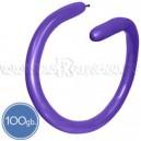 Шары для моделирования (ШДМ), ПАСТЕЛЬ, Q260, 100 шт., фиолетовые
