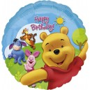 "18""/45cm шар из фольги - Pooh And Friends: Sunny Birthday, S60"