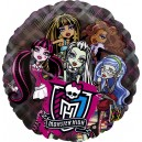 "26""/66cm прозрачный шар из фольги - MONSTER HIGH, P30"