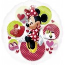 "26""/66cm прозрачный шар из фольги - DISNEY MINNIE MOUSE, P30"