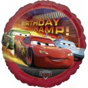 "18""/45cm шар из фольги - Disney Cars Birthday Champion, S60"