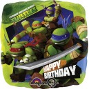 "18""/45cm шар из фольги - Ninja Turtles Happy Birthday, S60"