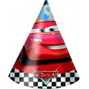 6 Cepurītes DISNEY CARS RSN svētku atribūtika